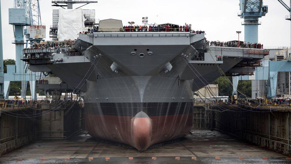 Retrasos y sobrecostes: los problemas del portaaviones USS Gerald Ford