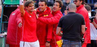 Post de Ferrer gana el punto decisivo en la Davis y se mete en semifinales contra Francia