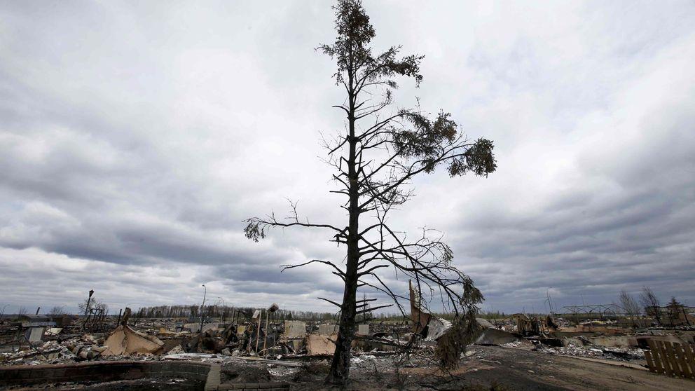 Canadá: la ciudad más rica de América se 'salva' de las llamas