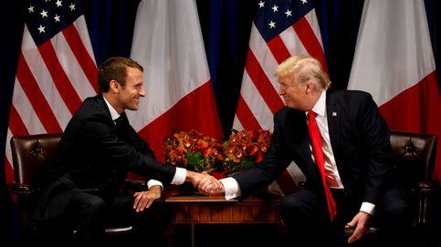 Macron, ante su 'gran amigo' Trump: el riesgo de cortejar al presidente de EEUU