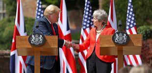 Post de Trump, el euroescéptico: torpedea a May por sus concesiones al 'Brexit blando'