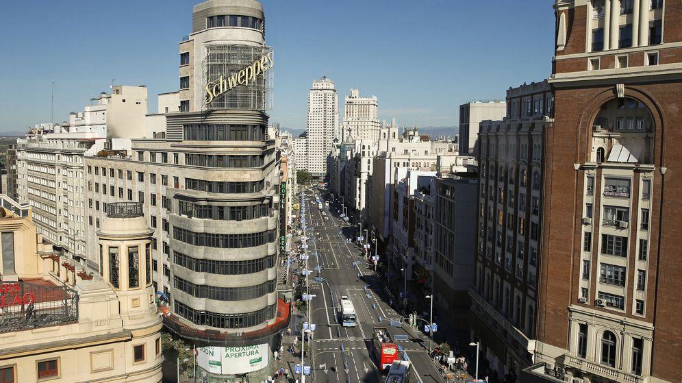 Foto: Gran Vía en Madrid. (EFE)