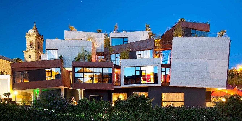 Foto: El hotel Viura ha cambiado el paisaje de Villabuena de Álava: vanguardia entre viñedos