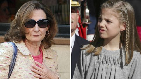 La infanta Sofía y Paloma Rocasolano 'huyen' del Real por la puerta de atrás