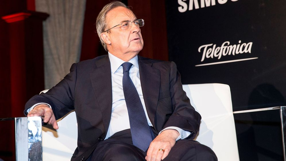 Foto: Florentino Pérez, en un acto reciente. (EFE)
