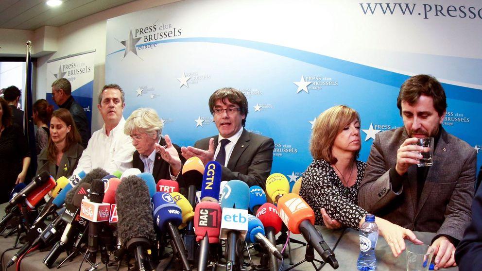 Puigdemont y los 'exconsellers' de Bruselas renunciarán a sus escaños tras el 21-D