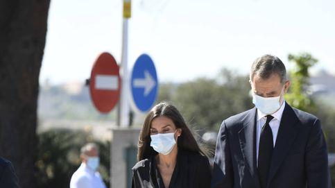 Felipe y Letizia dan el último adiós a Jaime Carvajal, marido de Xandra Falcó