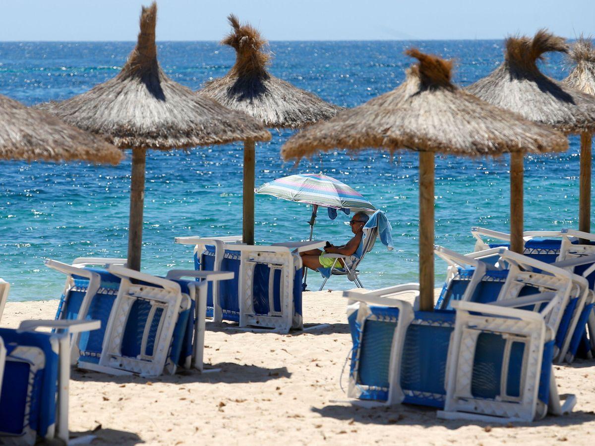 Foto: La playa de Magaluf. (Reuters)