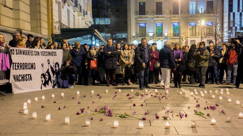 Foto: Protesta contra la violencia de género