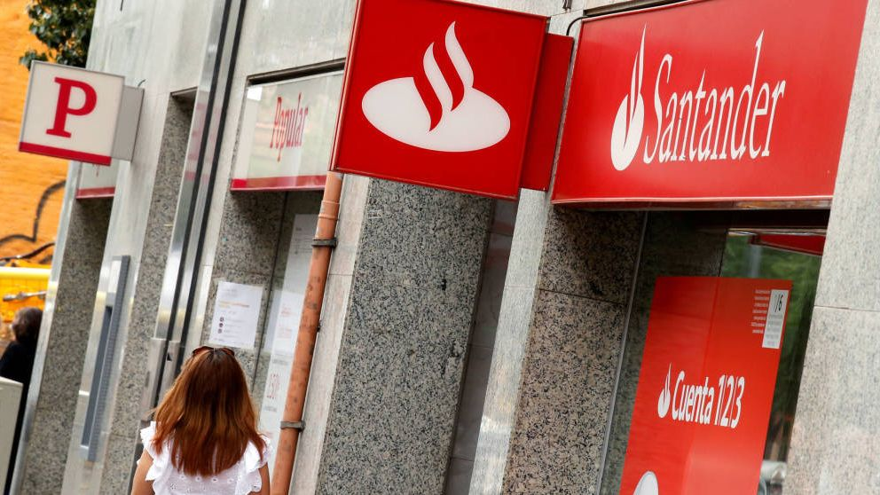 Santander admite para negociar el ERE que su eficiencia ha empeorado un 20%