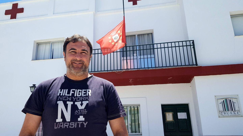 Arellano, frente al centro de formación sanitaria (A.P.)
