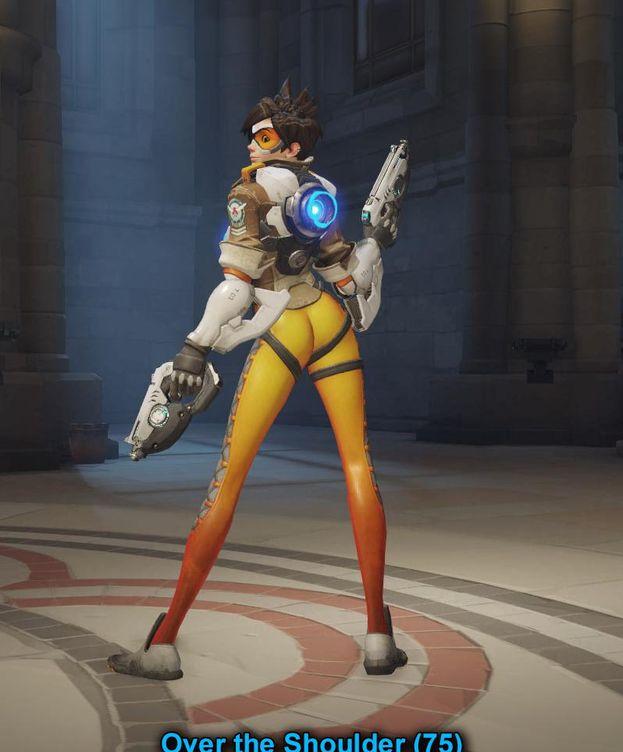 Foto: La imagen de Tracer, personaje de 'Overwatch', que ha provocado la polémica. (Blizzard)