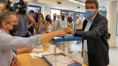 Carlos Mazón arrasa a los críticos en las primarias del PP valenciano