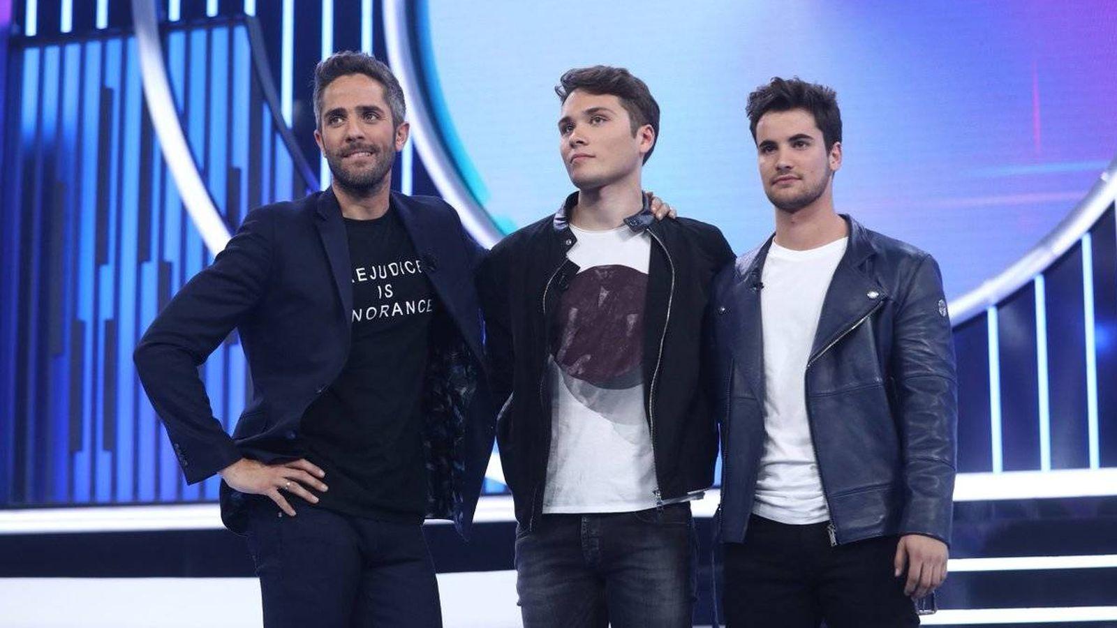 Foto: Los dos nuevos nominados de 'OT 2018'. (TVE)