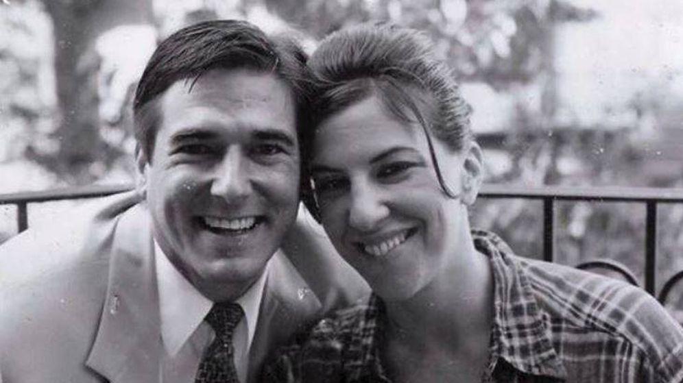 Foto: Gayle Saks con su amigo Craig en el 2000.