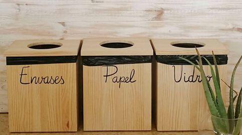 Papeleras para reciclar en casa y cuidar el medioambiente