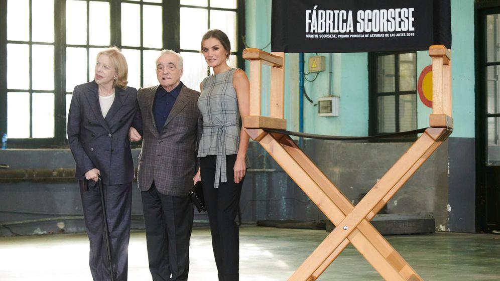 Foto: La Reina con Scorsese. (Limited Pictures)