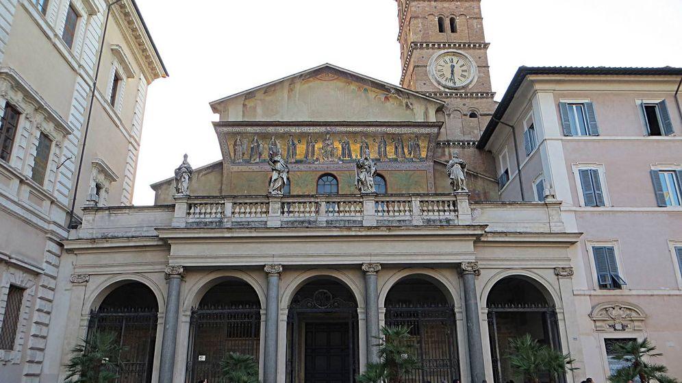 Foto: Basílica de Santa María en Trastévere.