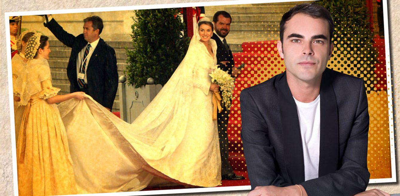 Vestido boda letizia ortiz