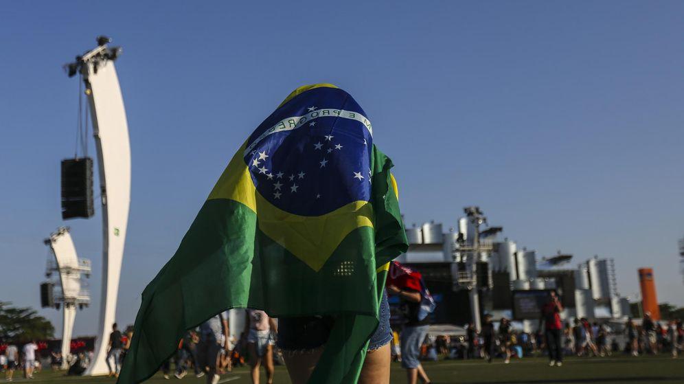 Foto: Imagen del festival Rock in Rio, en Río de Janeiro, Brasil. (EFE)