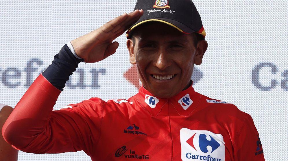 Foto: Ya nadie le quitará el rojo a Quintana (Javier Lizón/EFE).