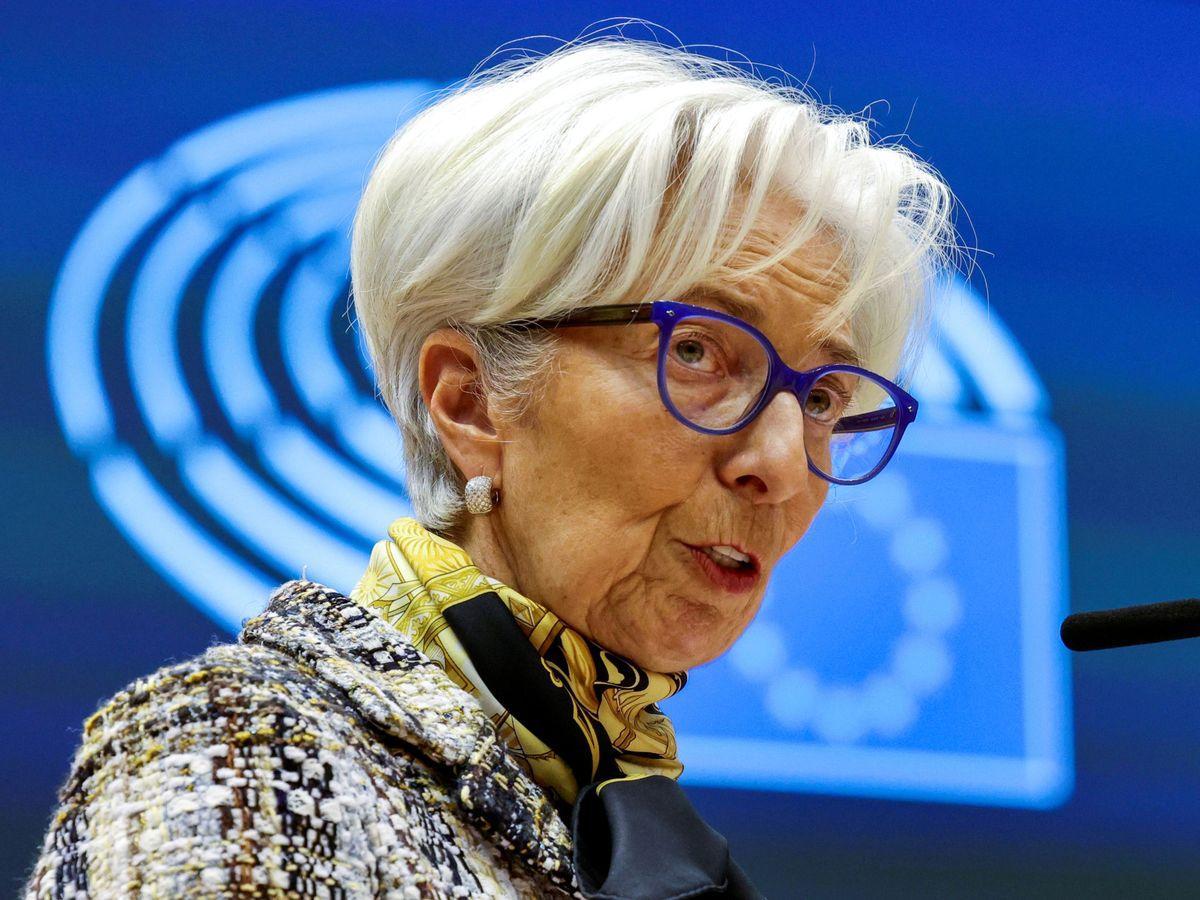 Foto: Christine Lagarde, presidenta del BCE (Reuters)