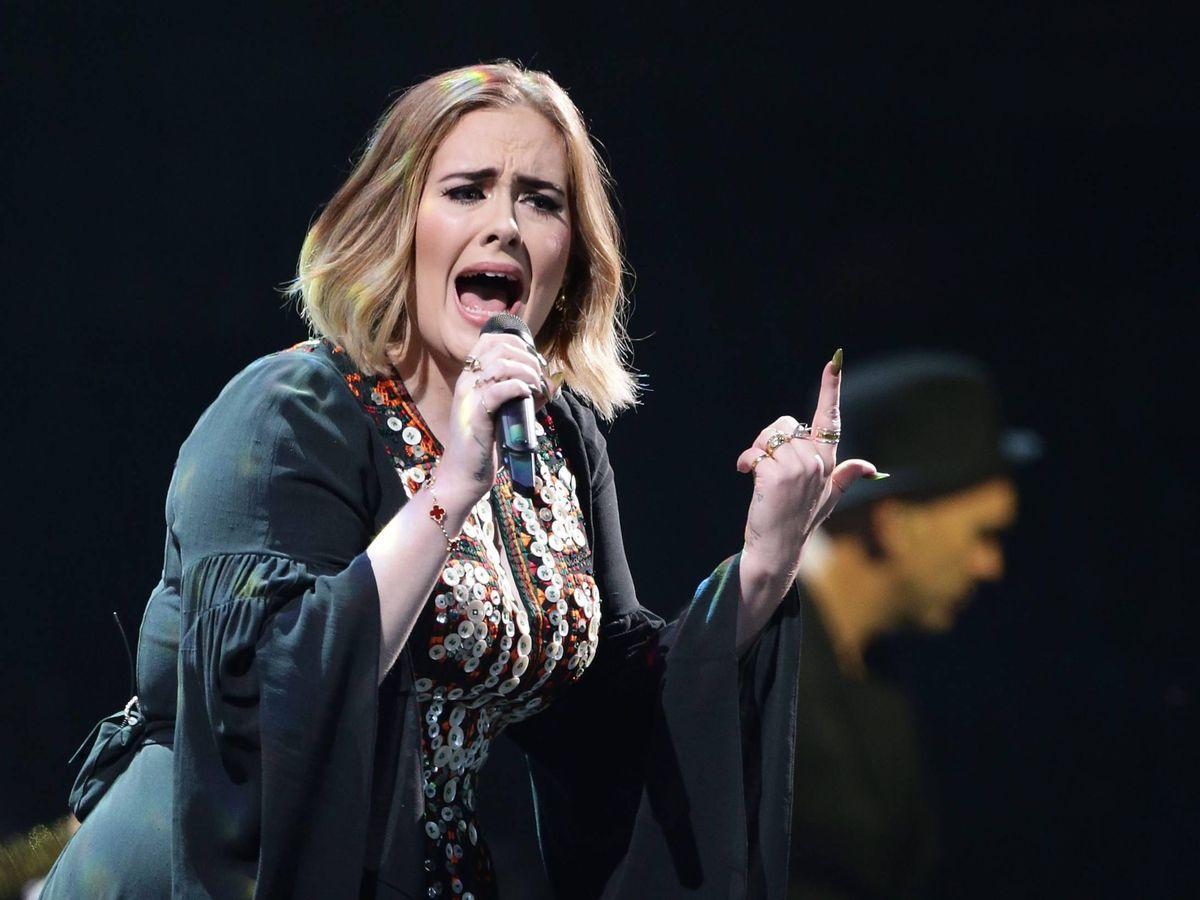 Foto:  Adele. (CP)