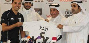 Post de La hipocresía de Xavi con Qatar, la misma que con aquella huelga de ricos