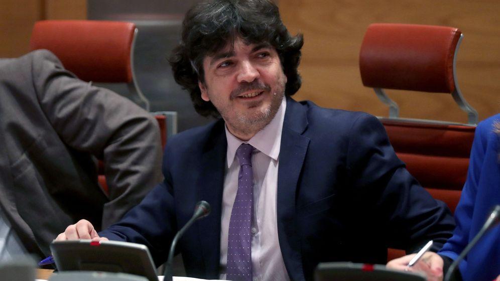 Foto: Mario Garcés, posible candidato a portavoz del PP de Economía y Hacienda. (EFE)