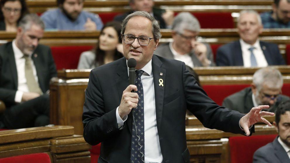 Torra pide dinero en el Parlament para pagar fianzas: se buscan dos millones