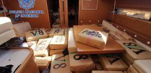 Post de La Policía interviene un 'narcovelero' con 6 toneladas de hachís en aguas internacionales