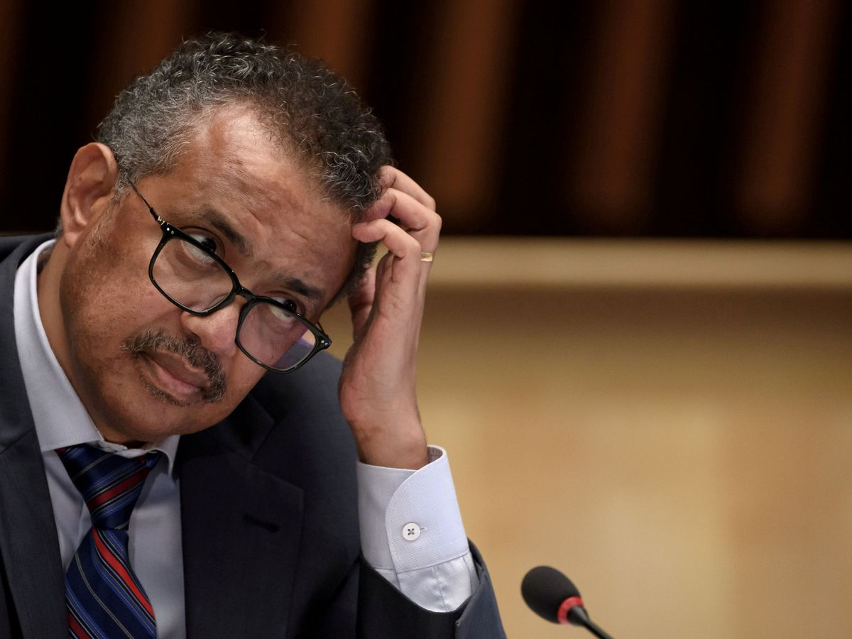 Foto: Tedros Adhanom Ghebreyesus, director de la OMS. (Reuters)