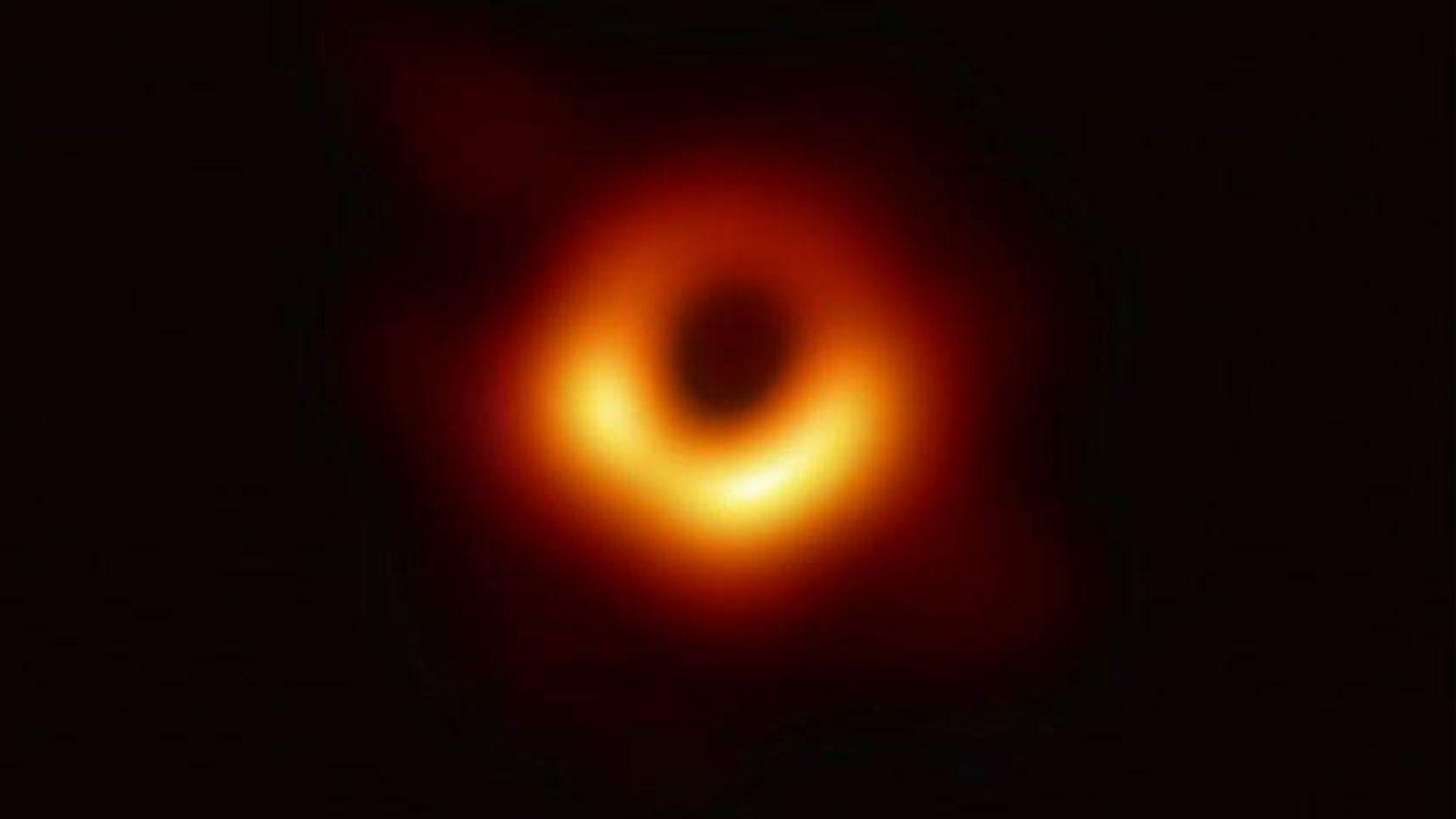 Foto:  Primera foto de un agujero negro. (ETH)