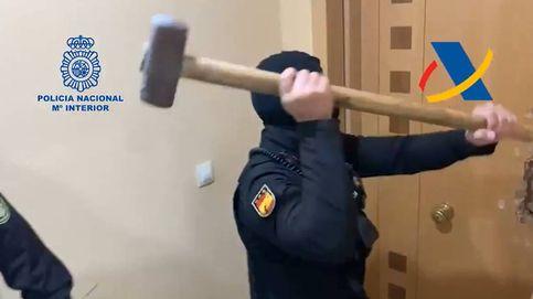 Diez detenidos por integrar una red de venta de hachís liderada por un exmilitar británico