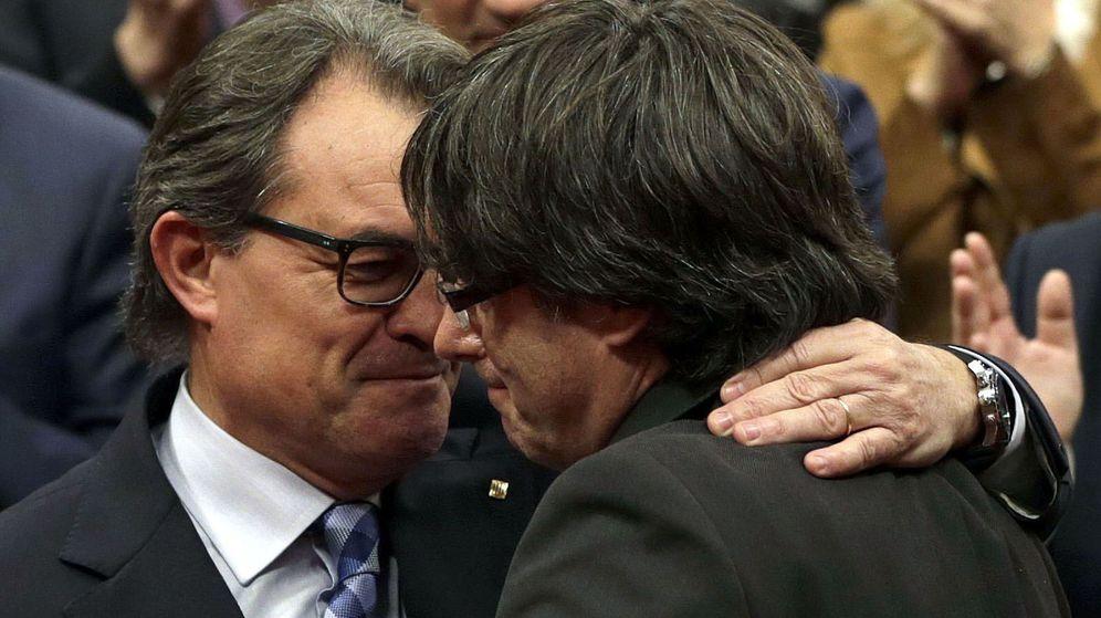 Foto: El expresidente de la Generalitat en funciones, Artur Mas. (EFE)