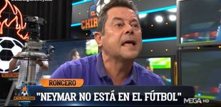 Post de Roncero explota en 'El chiringuito' de Pedrerol: