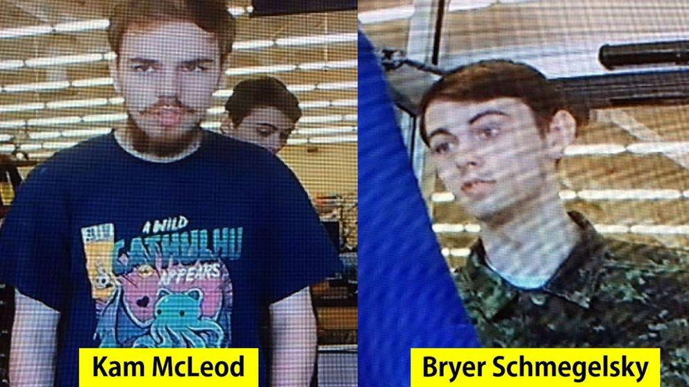 Canadá, en estado de alerta por el triple crimen de dos presuntos 'asesinos en serie'