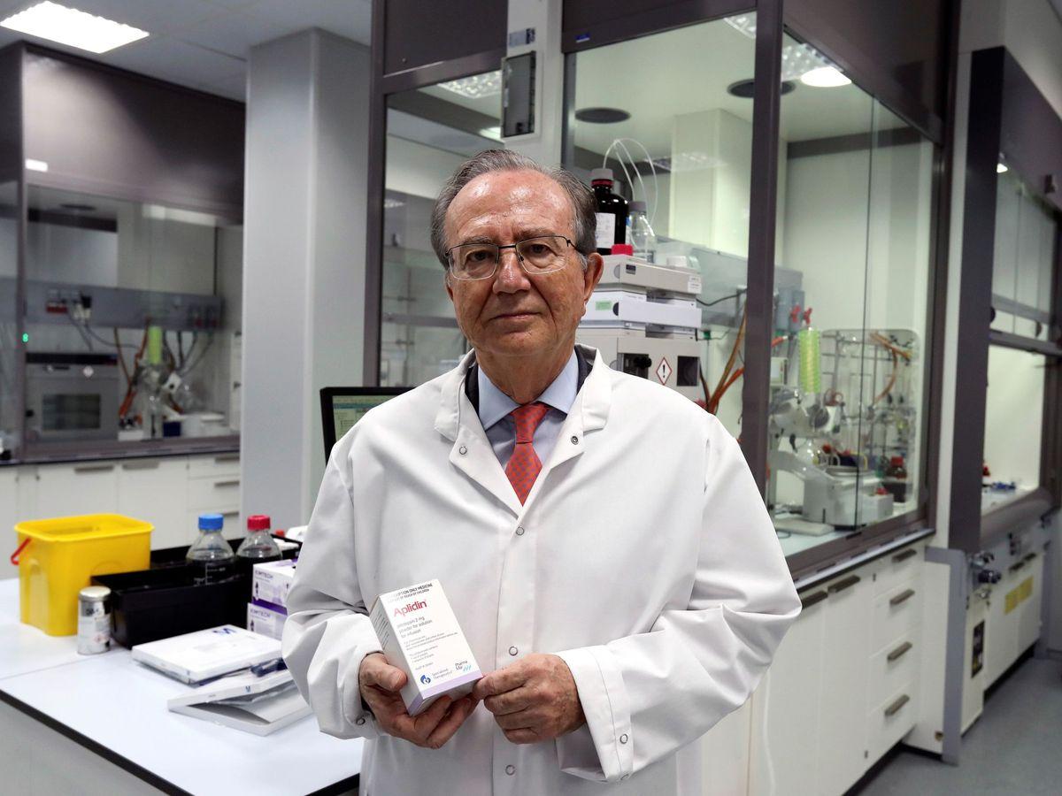 Foto: El presidente de pharma mar, José María Fernández (EFE)