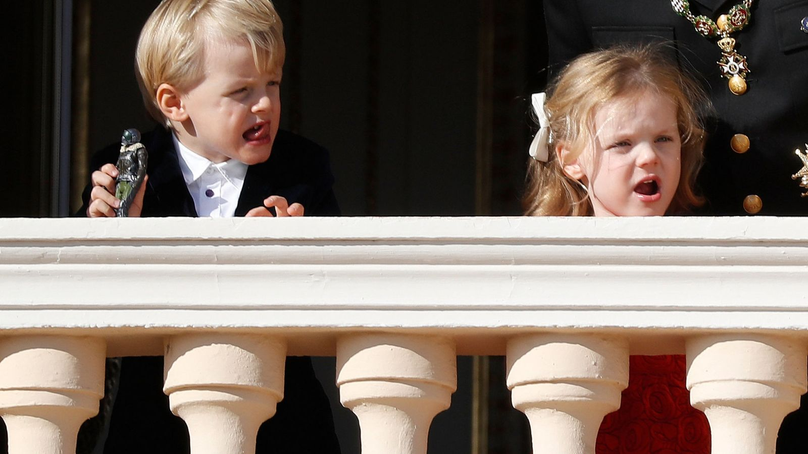Foto: Jacques y Gabriella de Mónaco, en una imagen de archivo. (Reuters)