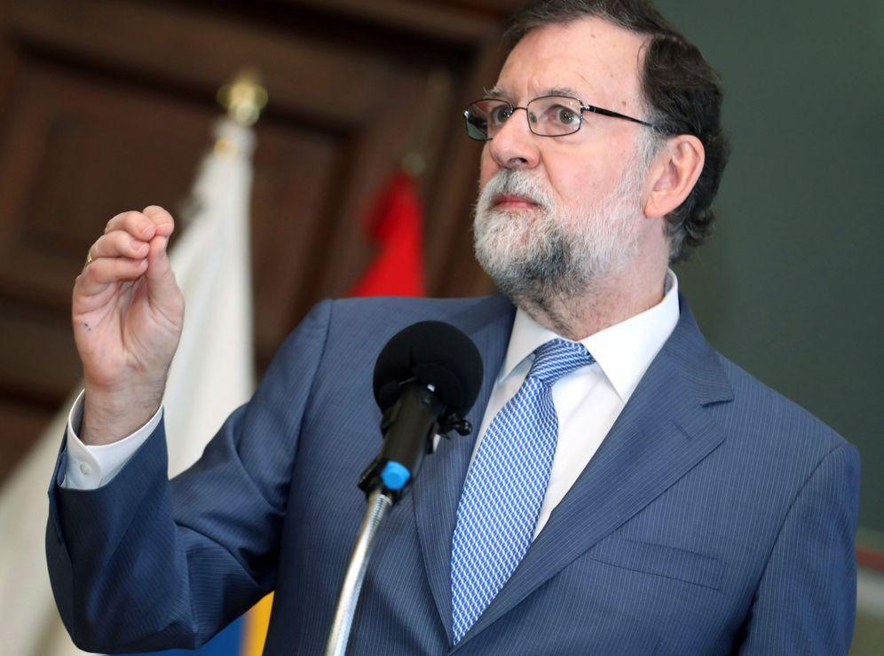 Foto: Mariano Rajoy, este 19 de mayo en Las Palmas de Gran Canaria. (EFE)