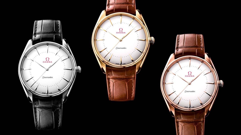 Foto: Los nuevos relojes pueden adquirirse por separado y se presentan con pulseras de piel marrón o negra. Cada uno incorpora el movimiento Master Chronometer calibre 8807.
