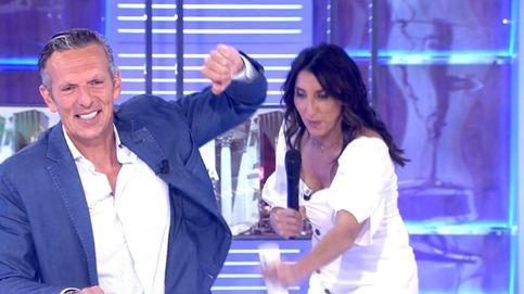 Paz Padilla y Kiko Hernández asaltan a Joaquín Prat en pleno directo