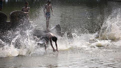 Altas temperaturas en Calcuta
