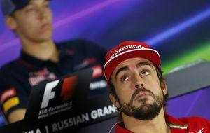 Alonso: Por sólo 10 centímetros pude morir en el año 2012