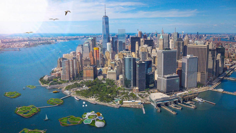Las islas flotantes son una apuesta sostenible de mucho futuro. (3deluxe)