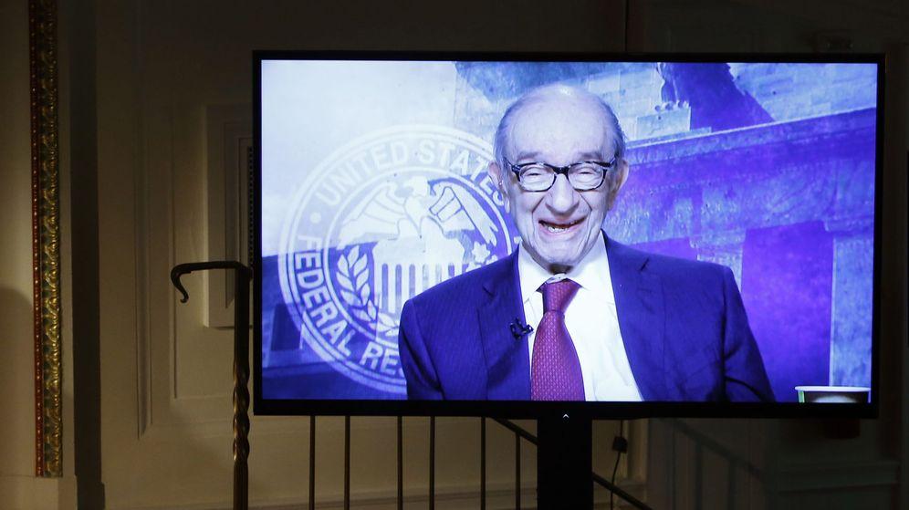 Foto: El exdirector de la Reserva Federal de EE.UU. Alan Greenspan