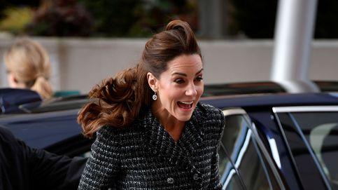 Kate Middleton y su pequeño contratiempo con el viento y su minifalda