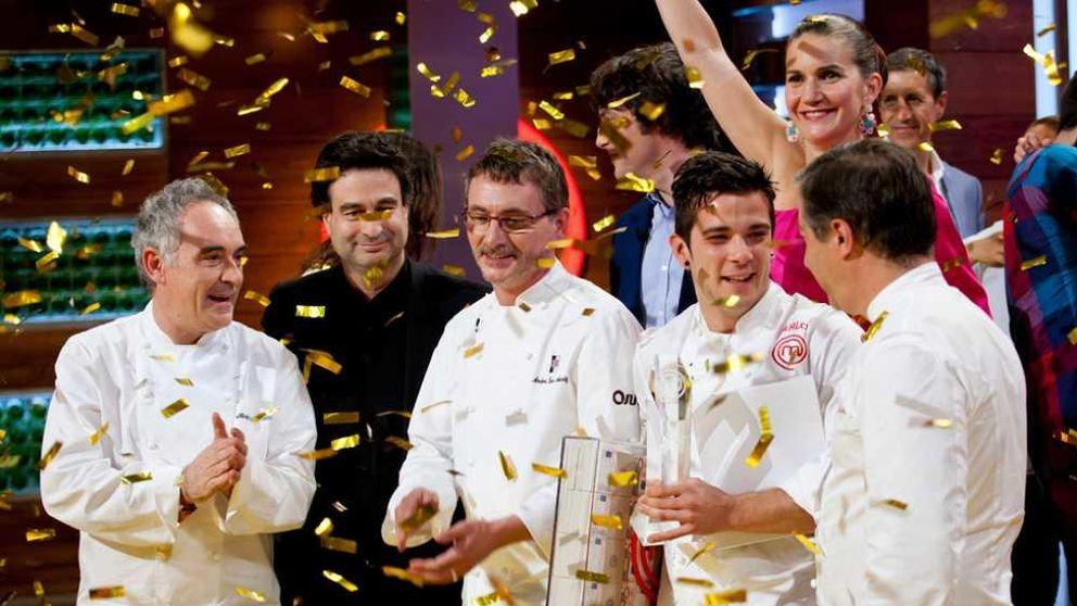 Final de 'MasterChef' - Carlos, ganador de la tercera edición del 'talent' de TVE