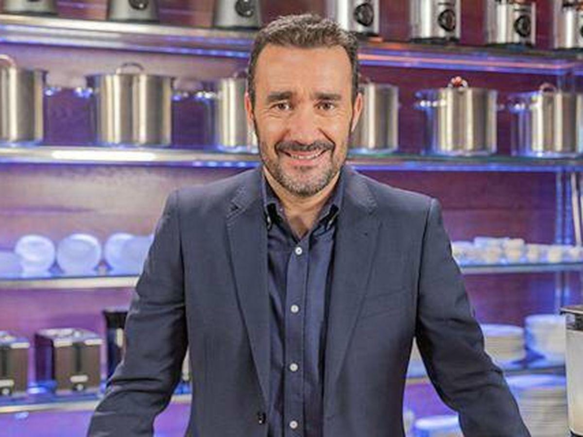 Foto: Juanma Castaño, en 'MasterChef Celebrity'. (TVE)