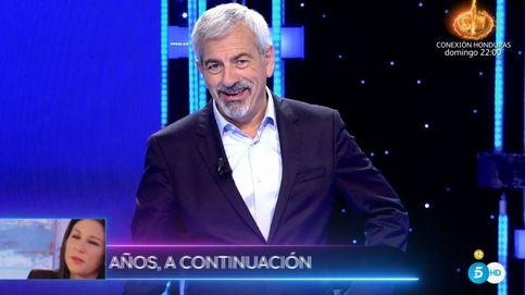 'Volverte a ver': el curioso lapsus de Carlos Sobera al despedir a Gloria Camila